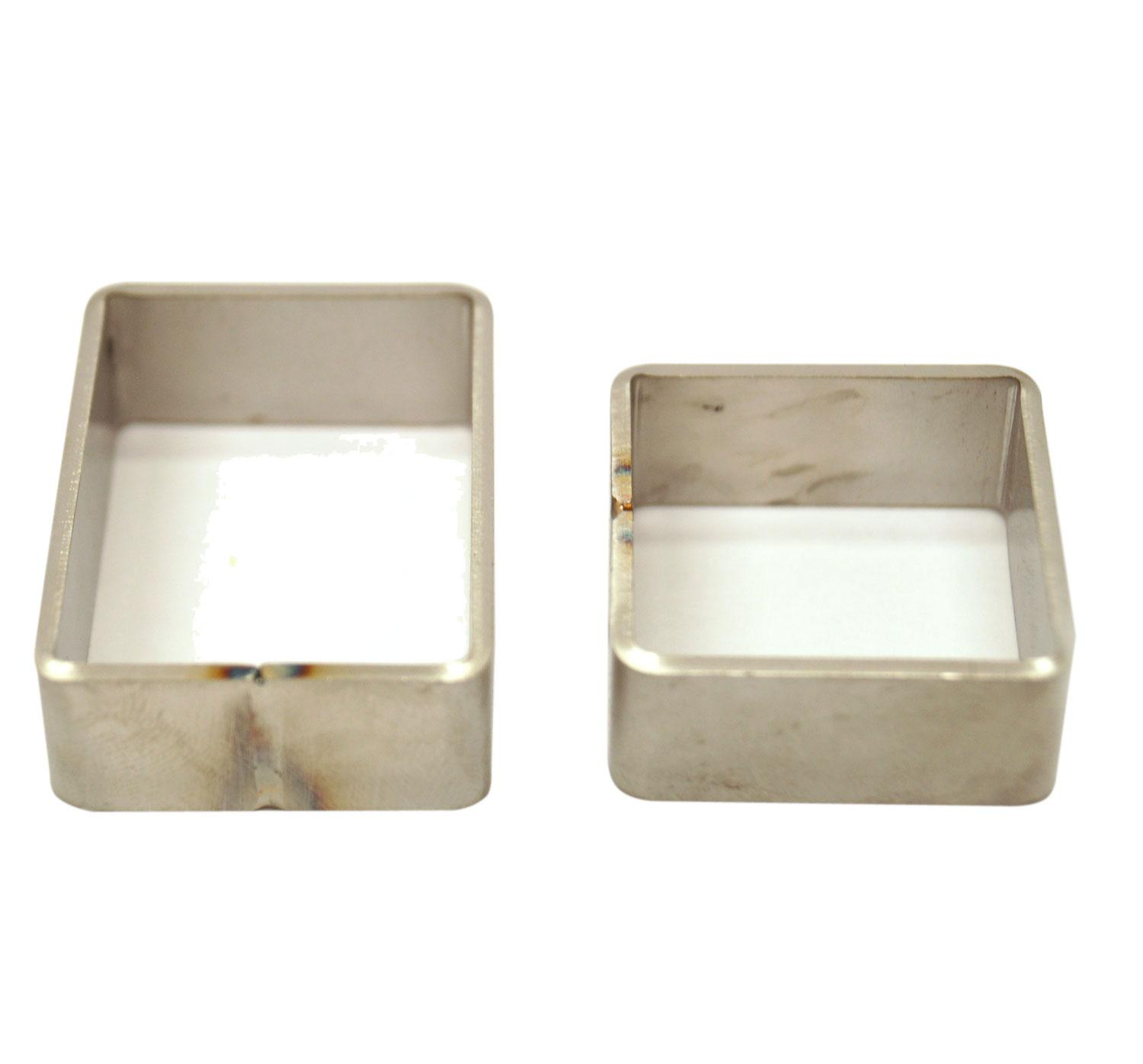 Stainless Steel Mini Molds Set