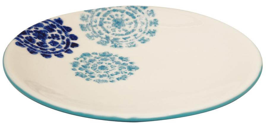 Free Spectacular Stenciled Enamel Platters Project Guide