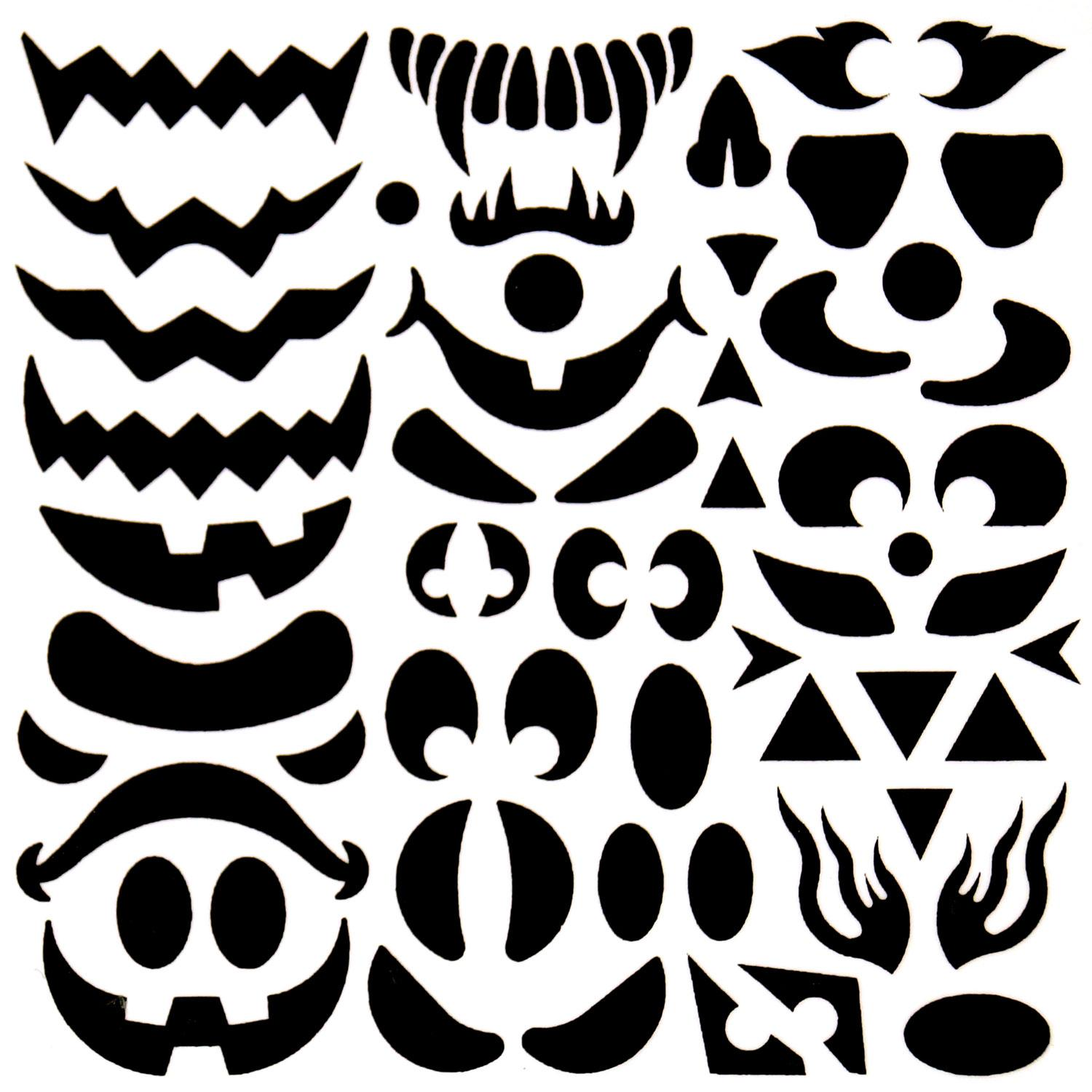 Create A Pumpkin Face Decal Delphi Glass