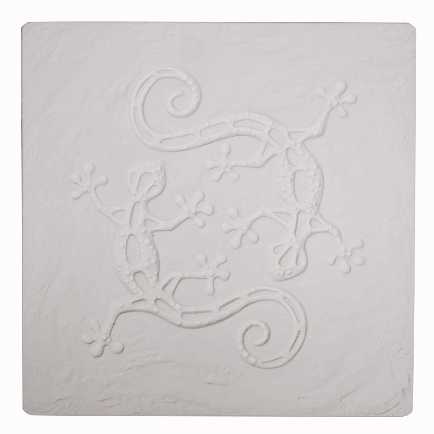 Square Gecko Texture Mold