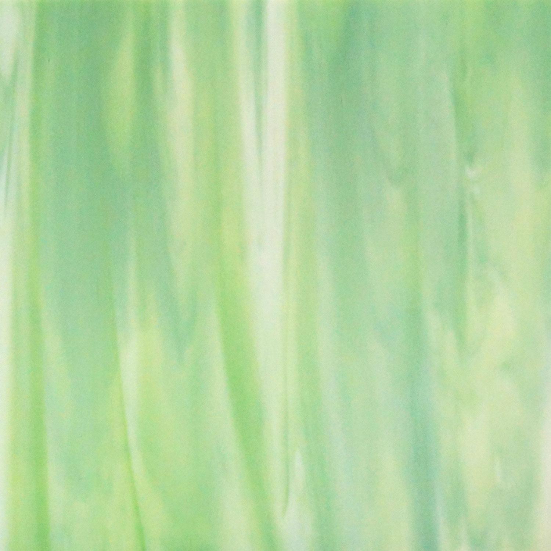 16 x 20 Wissmach Green, White Prisma - 96 COE