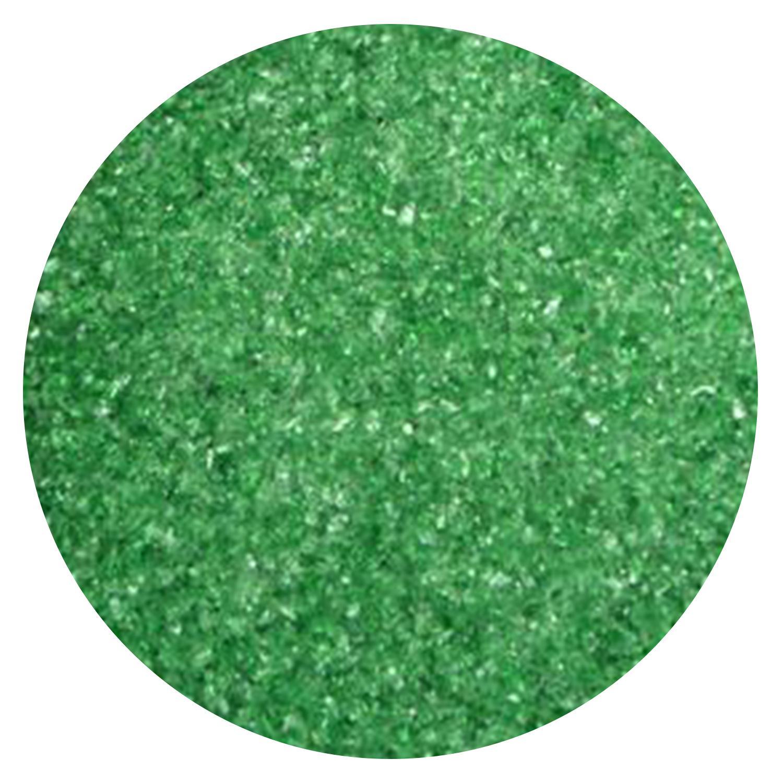 5 lb Emerald Transparent Fine Frit - 90 COE