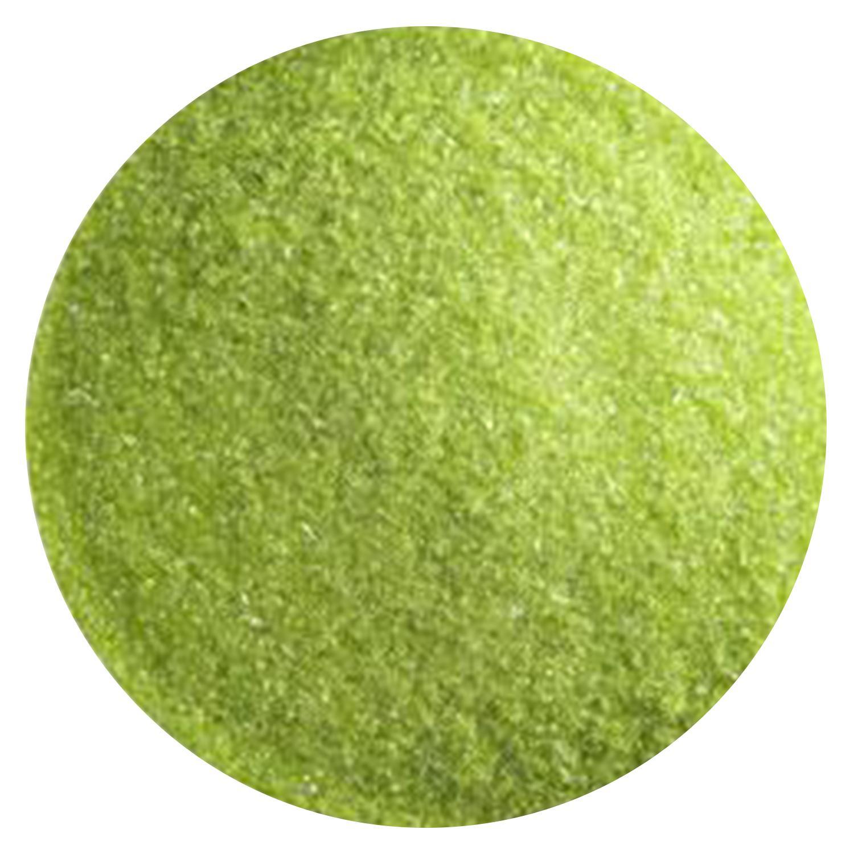 5 lb Spring Green Transparent Fine Frit - 90 COE