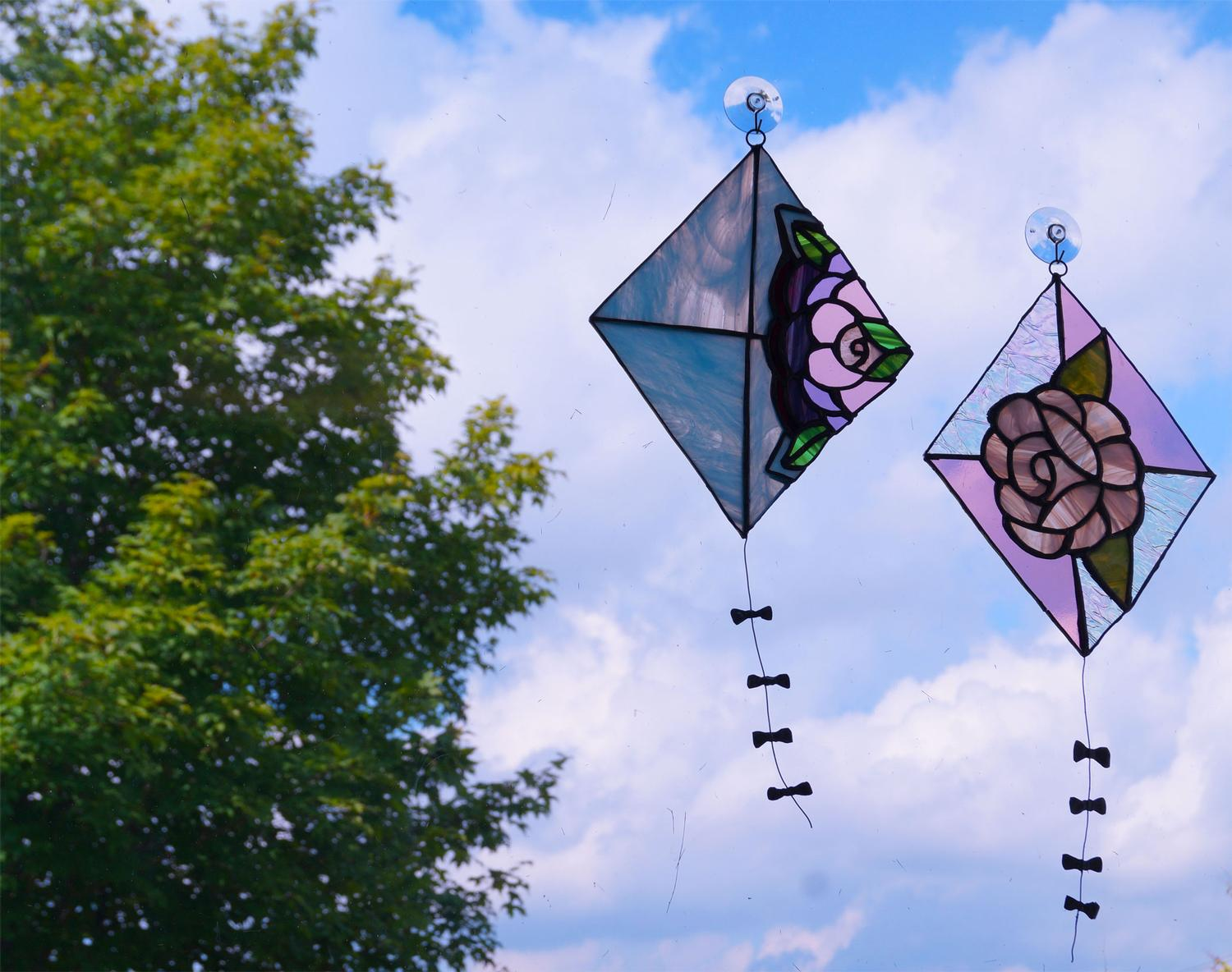 Free Stained Glass Kite Project Guide