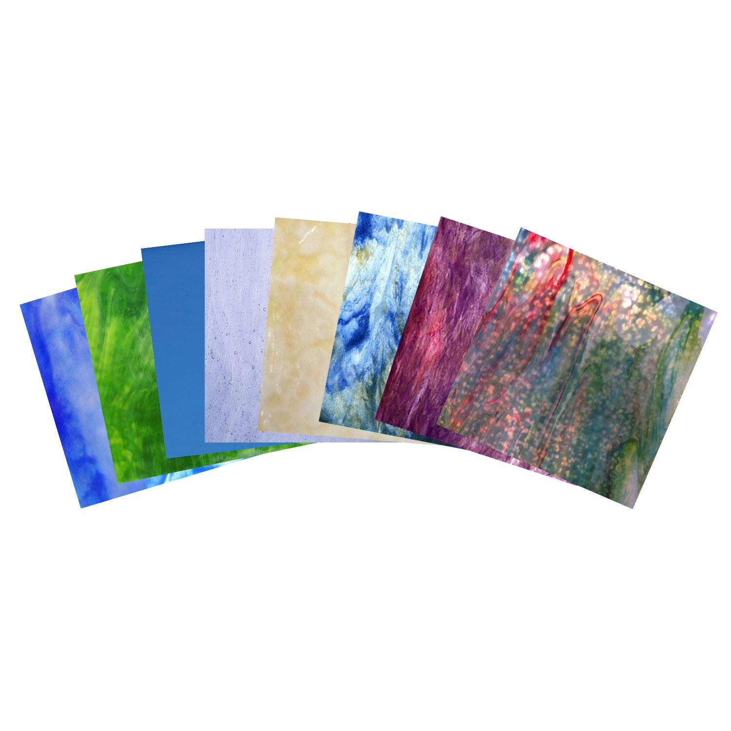 Northern Lights Glass Pack Stained Sheets