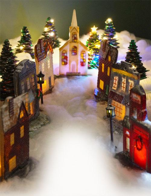 Free Christmas Village Project Guide