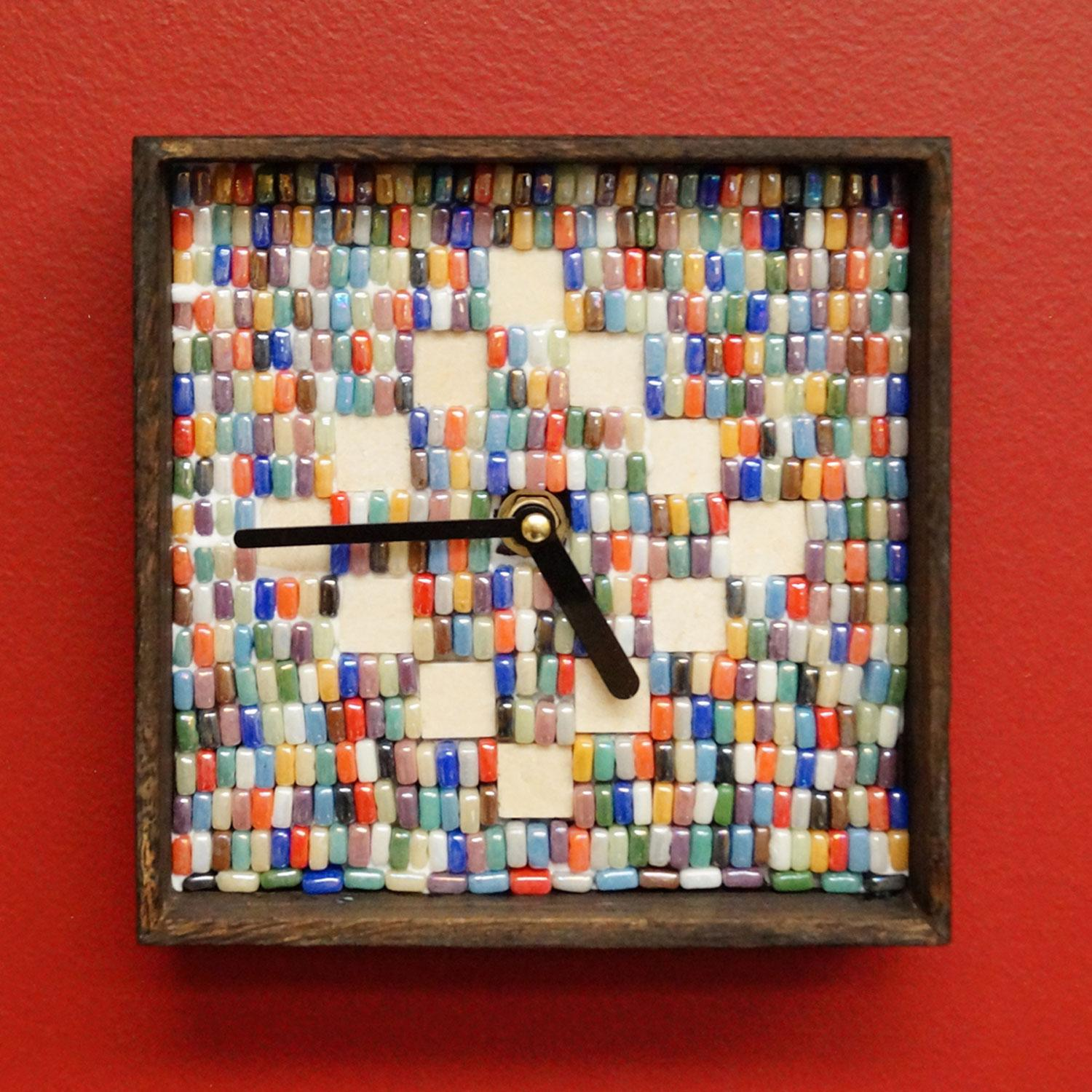 Free Custom Antiquity Mosaics Clock Kit Project Guide