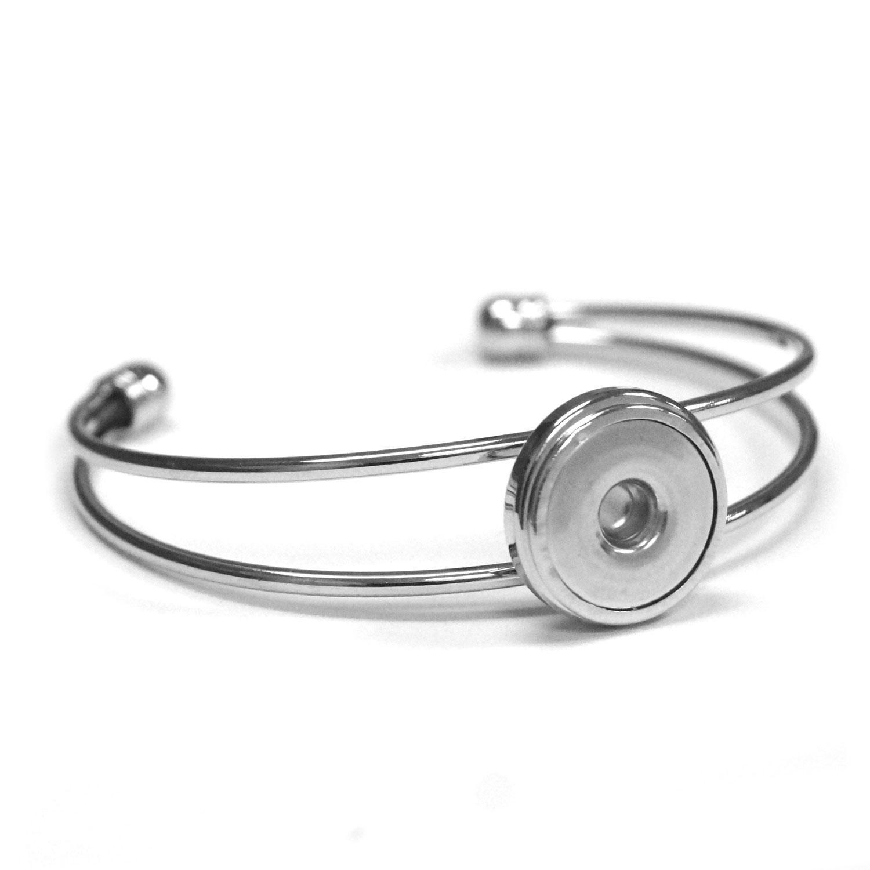 Single Snap Cuff Bracelet