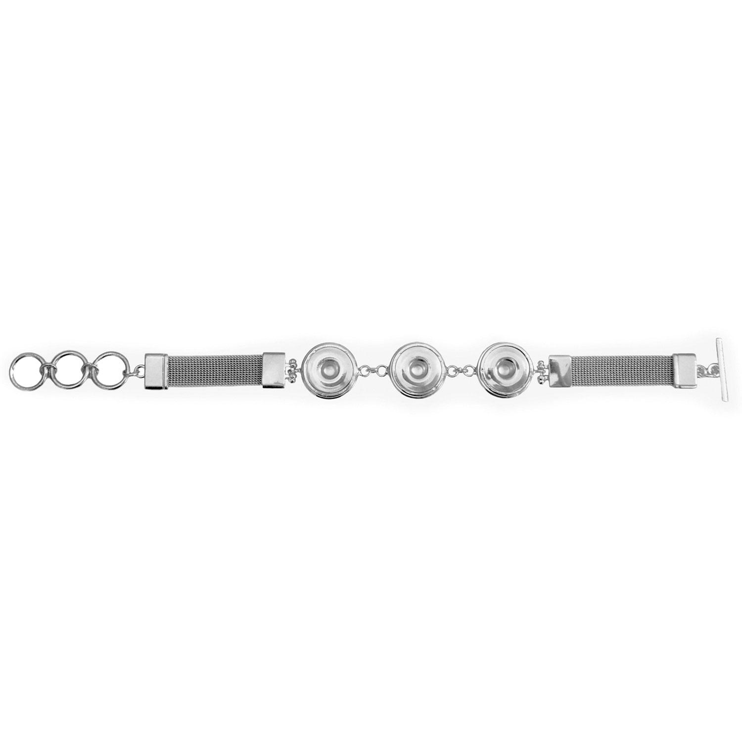 Soft Chain Snap Bracelet