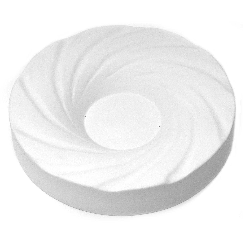 11-7/8 x 2-1/8 Bullseye Round Swirl Mold