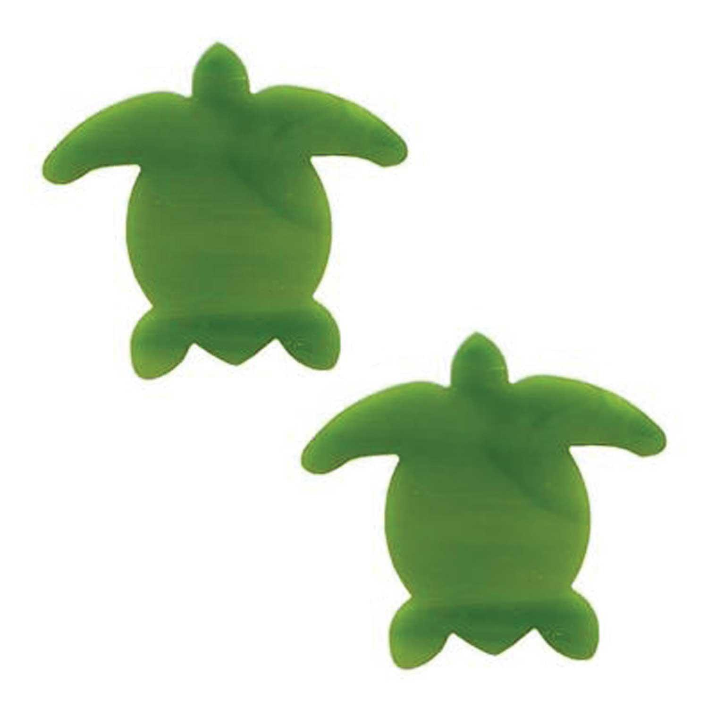 Green Sea Turtle Fusible Pre-Cut 2 Pack - 96 COE