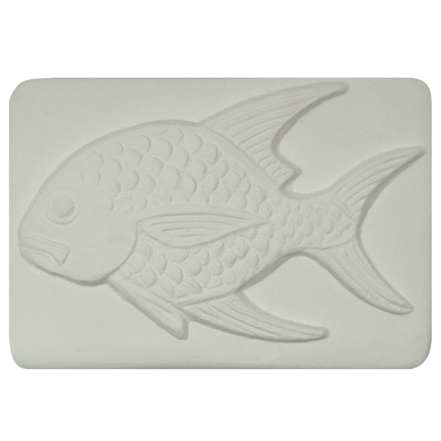 Delphi Studio Goldfish Impression Tile