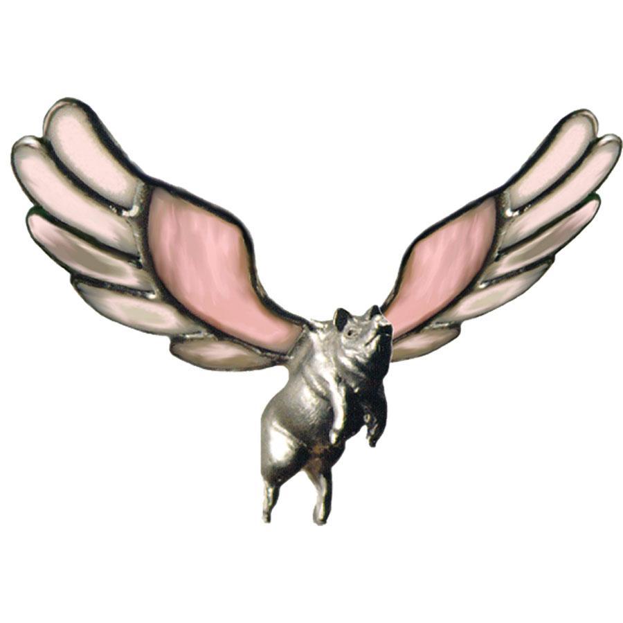 Flying Pig Lead Free Figurine