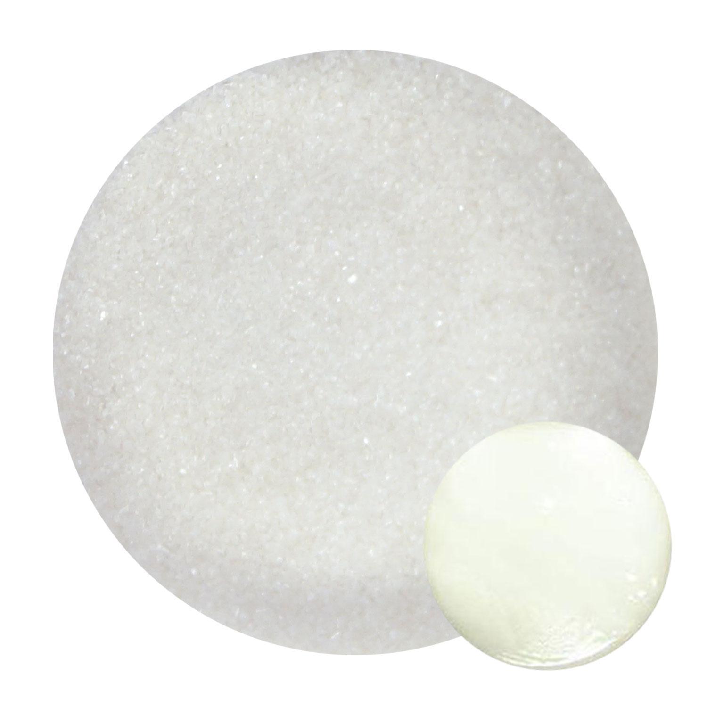 4 Oz Star White Fine Frit - 33 COE