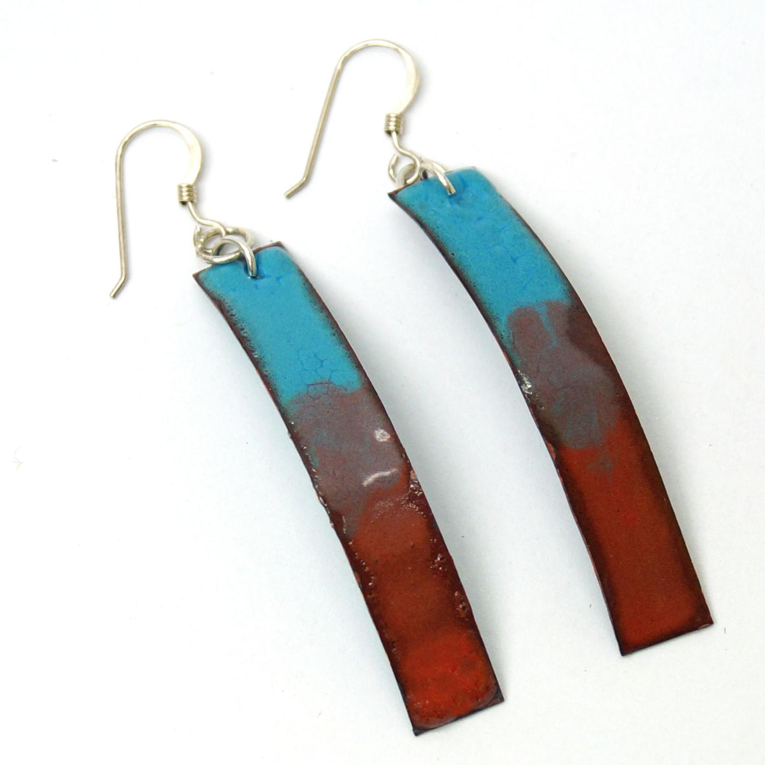 Free Color Gradient Copper Enamel Jewelry Project Guide