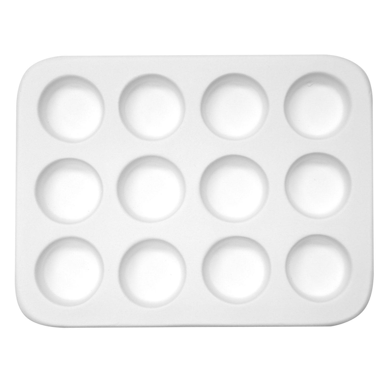 Circle Pendant Casting Mold - 12 Circles