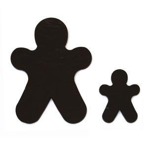 Gingerbread Man Fusible Pre-Cut 2 Pack - 90 COE