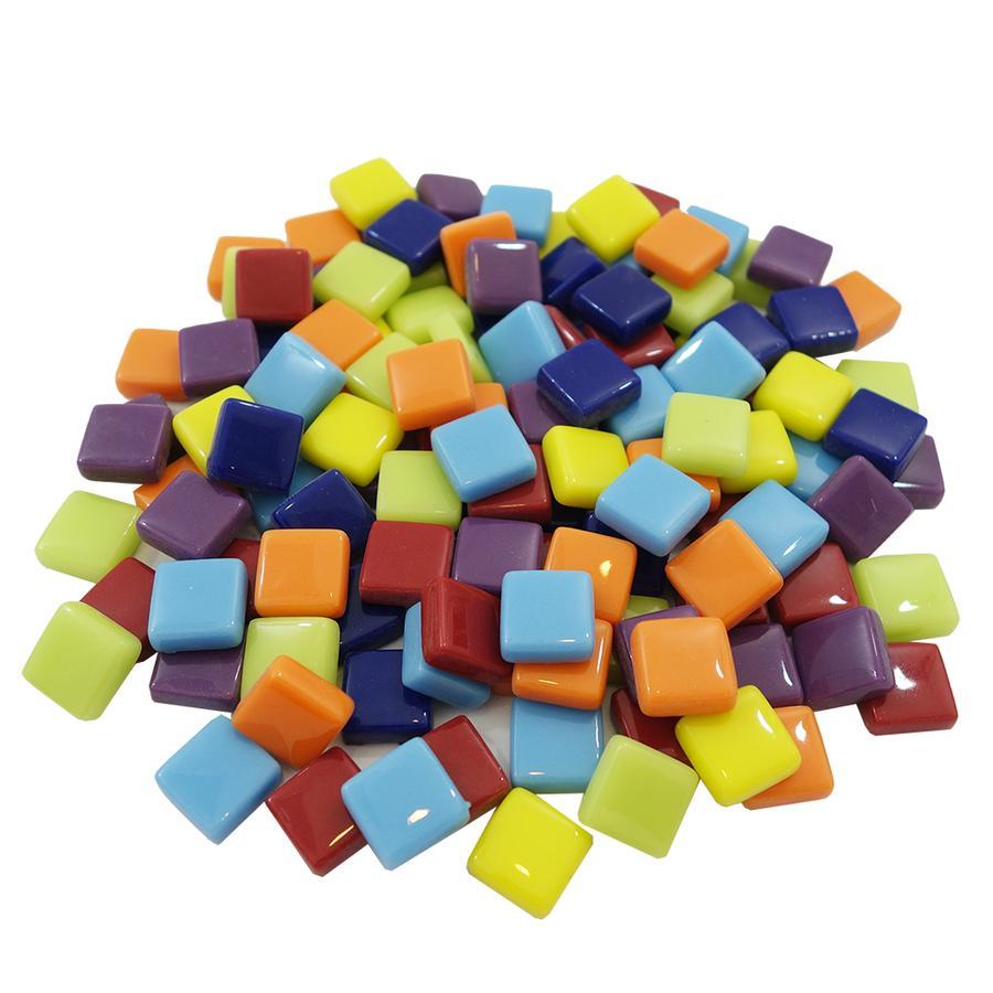 1/2 Mosaic Glass Squares - 8 oz