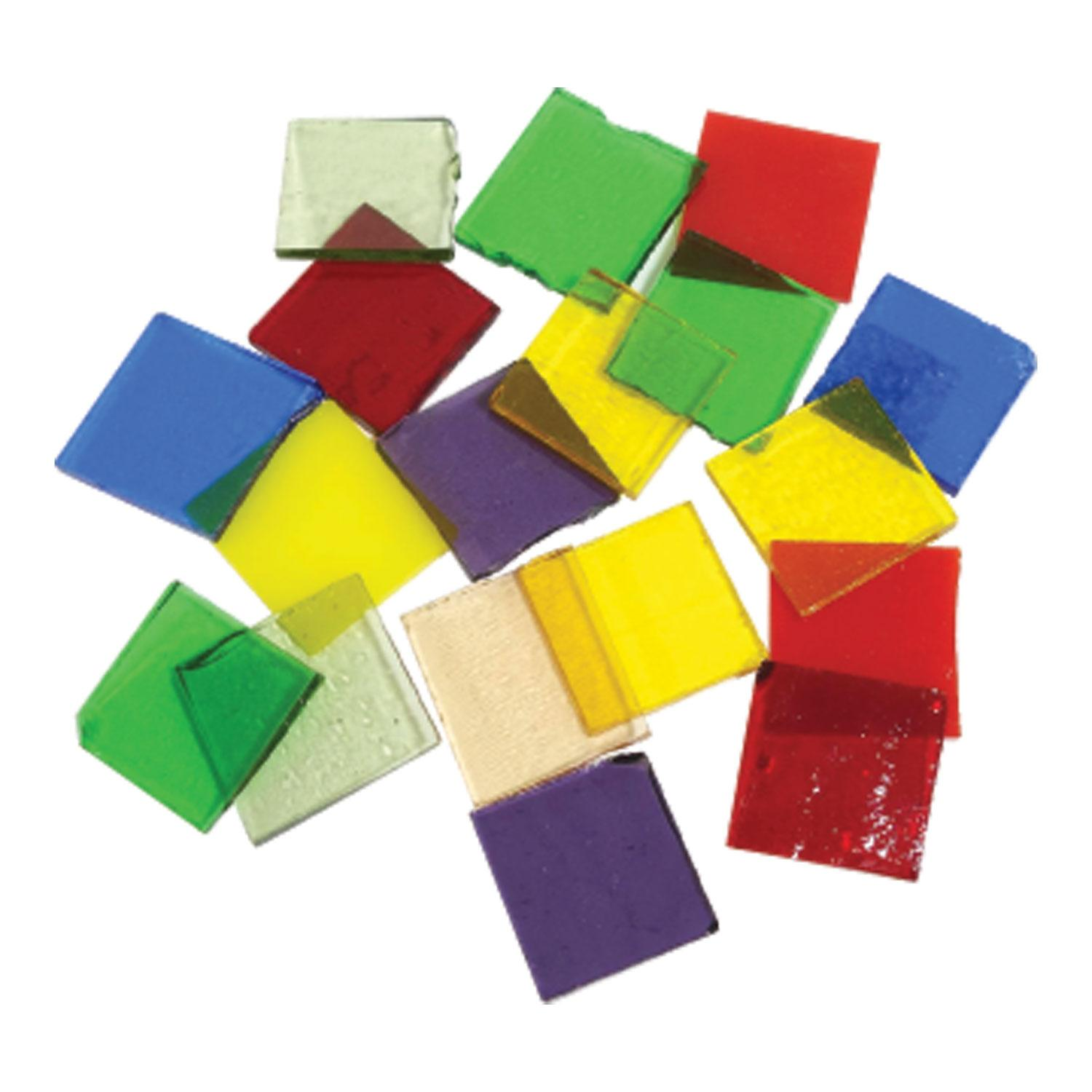 Fuseworks Variety Colors Squares 18 Piece Assortment - 90 COE