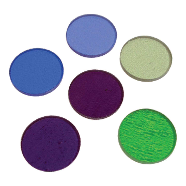 Fuseworks Cool Colors Circles 6 Piece Assortment - 90 COE