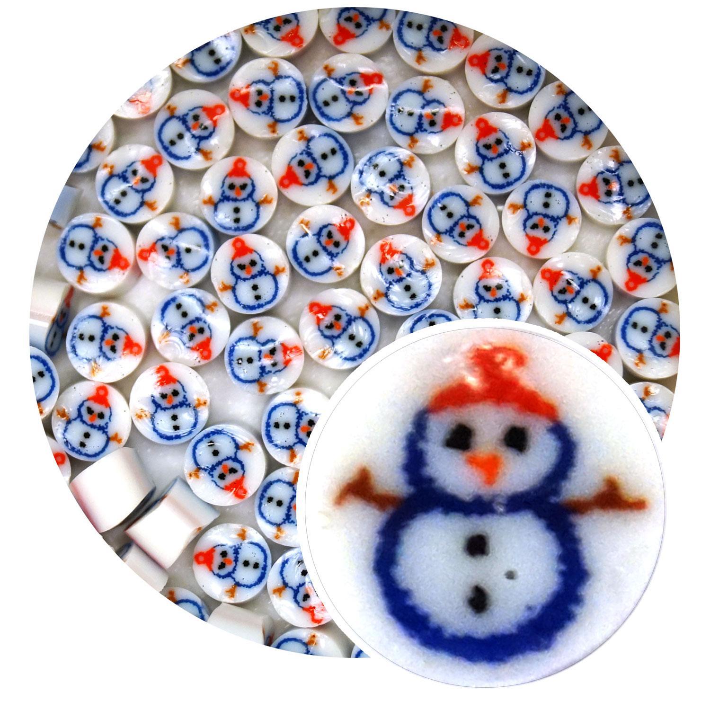 Snowman Millefiori - 90 COE