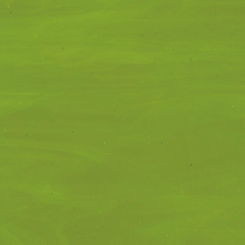 Bullseye Avocado Green Opal Thin - 90 COE