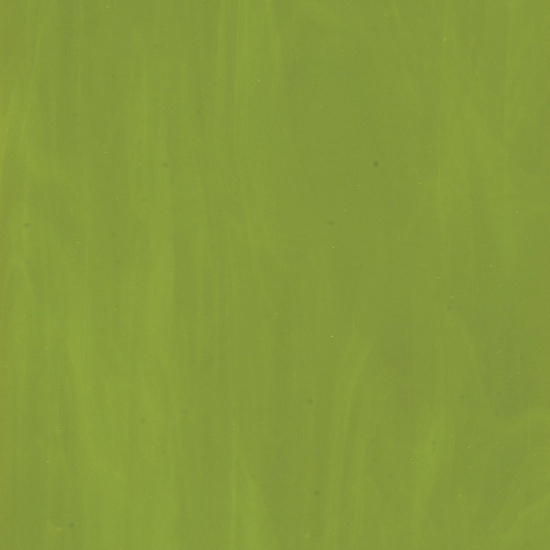 Bullseye Avocado Green Opal Double Rolled - 90 COE