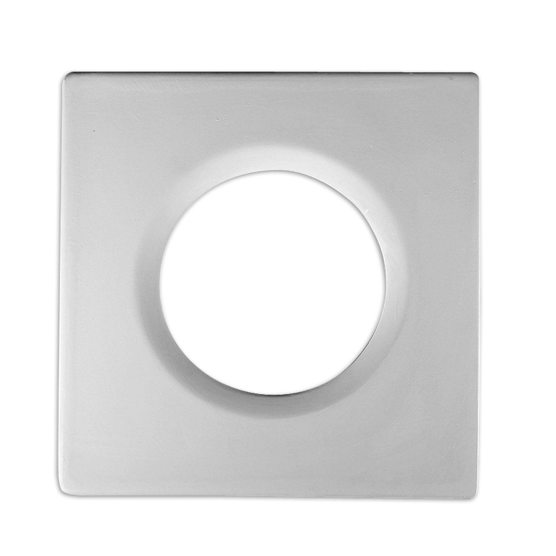 8 Square-Circle Drop Tile Mold
