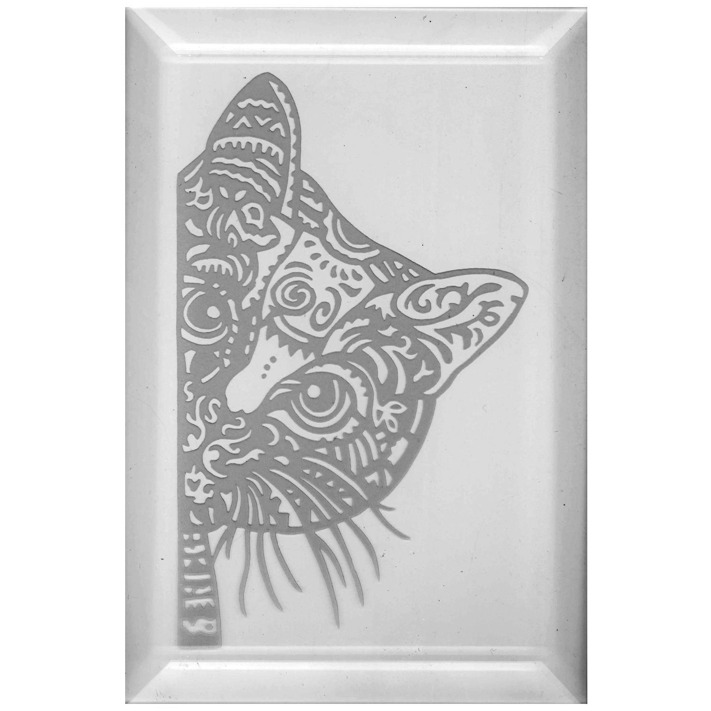 Delphi Studio Cat Engraved Bevel