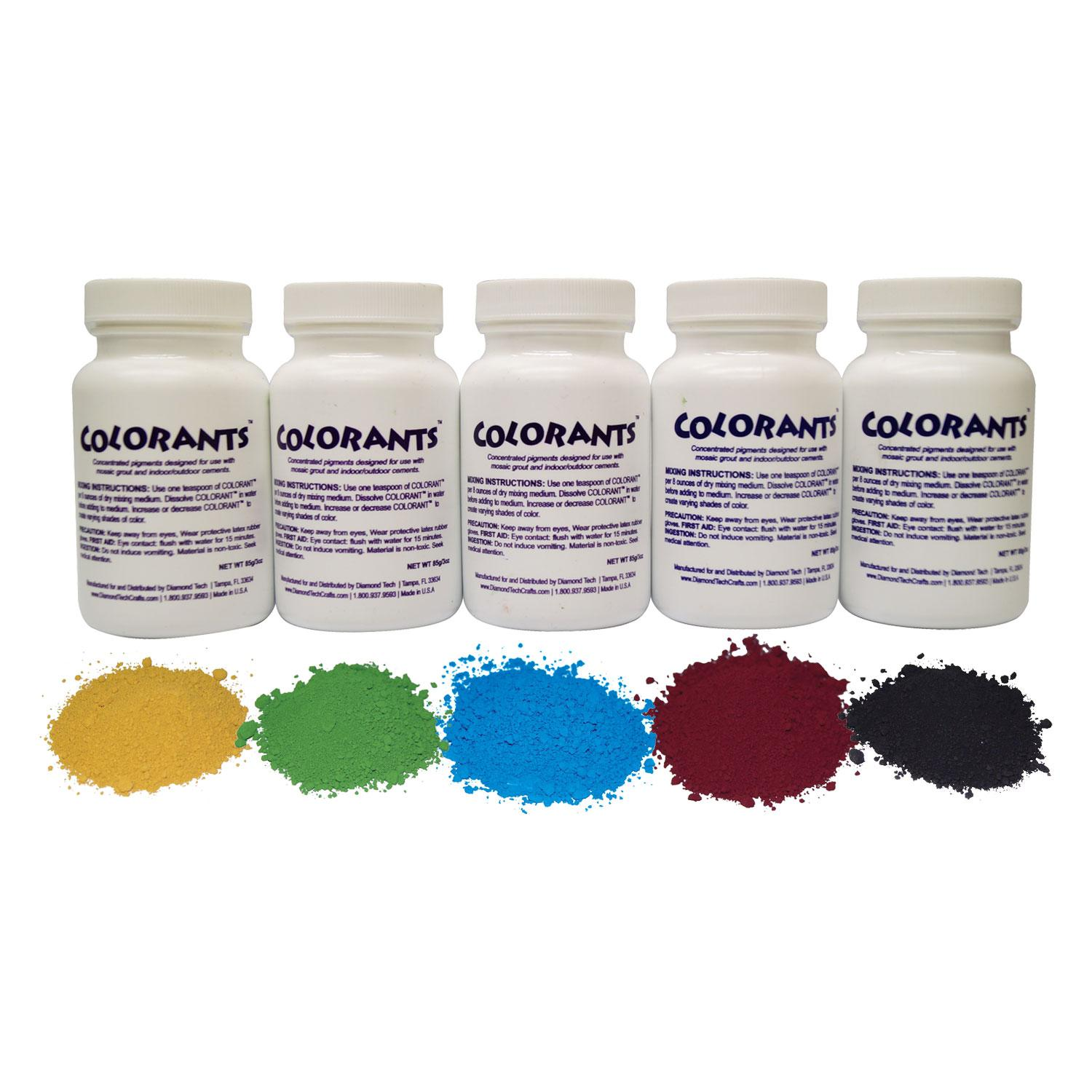 Primary Colorant Assortment - 5 Pack