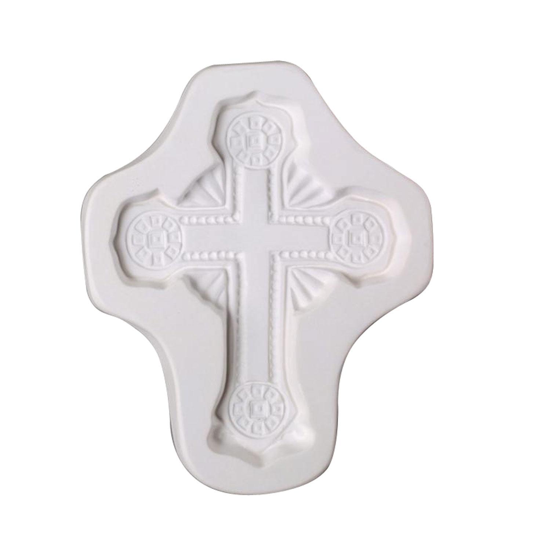 Ornate Cross Casting Mold
