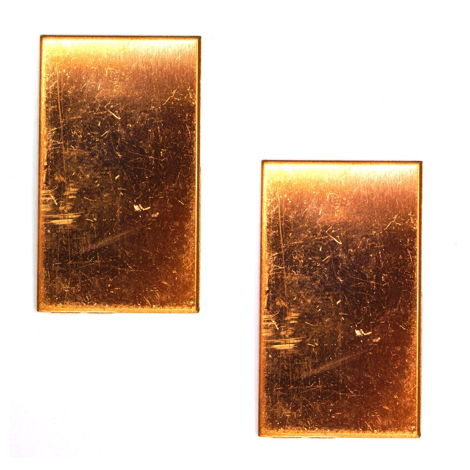Rectangle Copper Shape - 2 Pack
