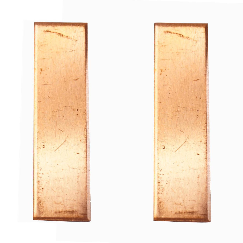 Slim Rectangle Copper Shape - 2 Pack