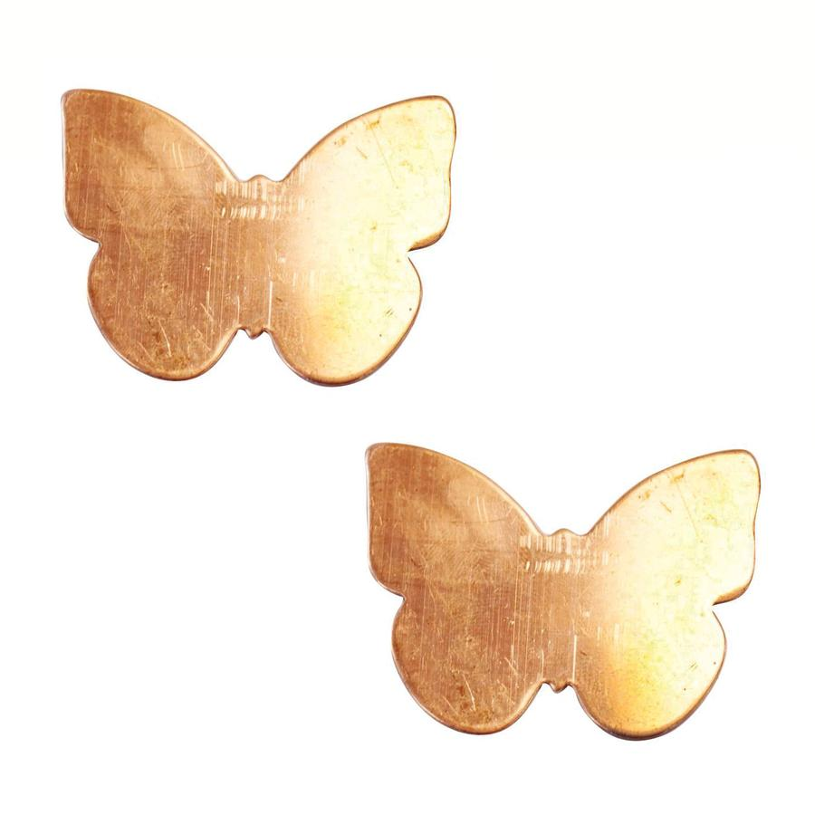 Large Butterfly Copper Shape - 2 Pack