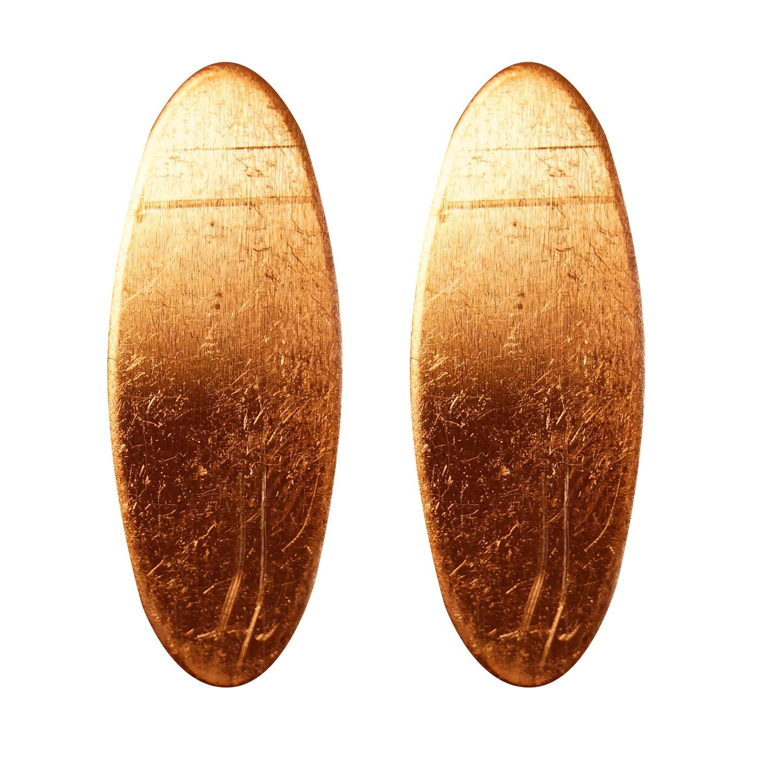 Oval Copper Shape - 2 Pack