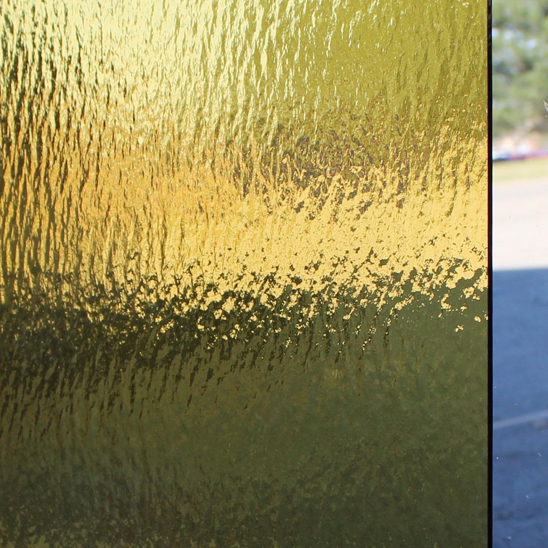 Oceanside Light Amber Transparent Rough Rolled