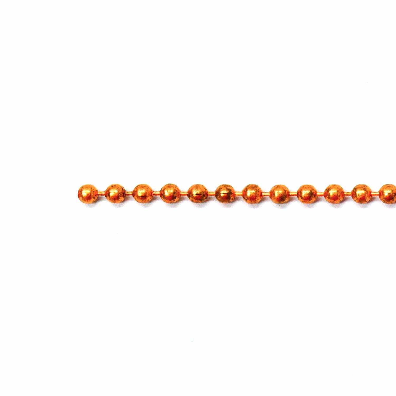 Copper Ball Chain - 5 Foot