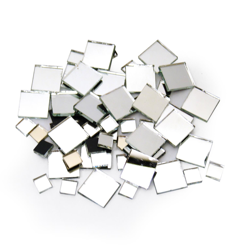 Mirror Tile Assortment - 50 Pieces