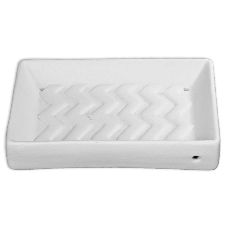 5-1/2 x 4 Chevron Soap Dish Mold