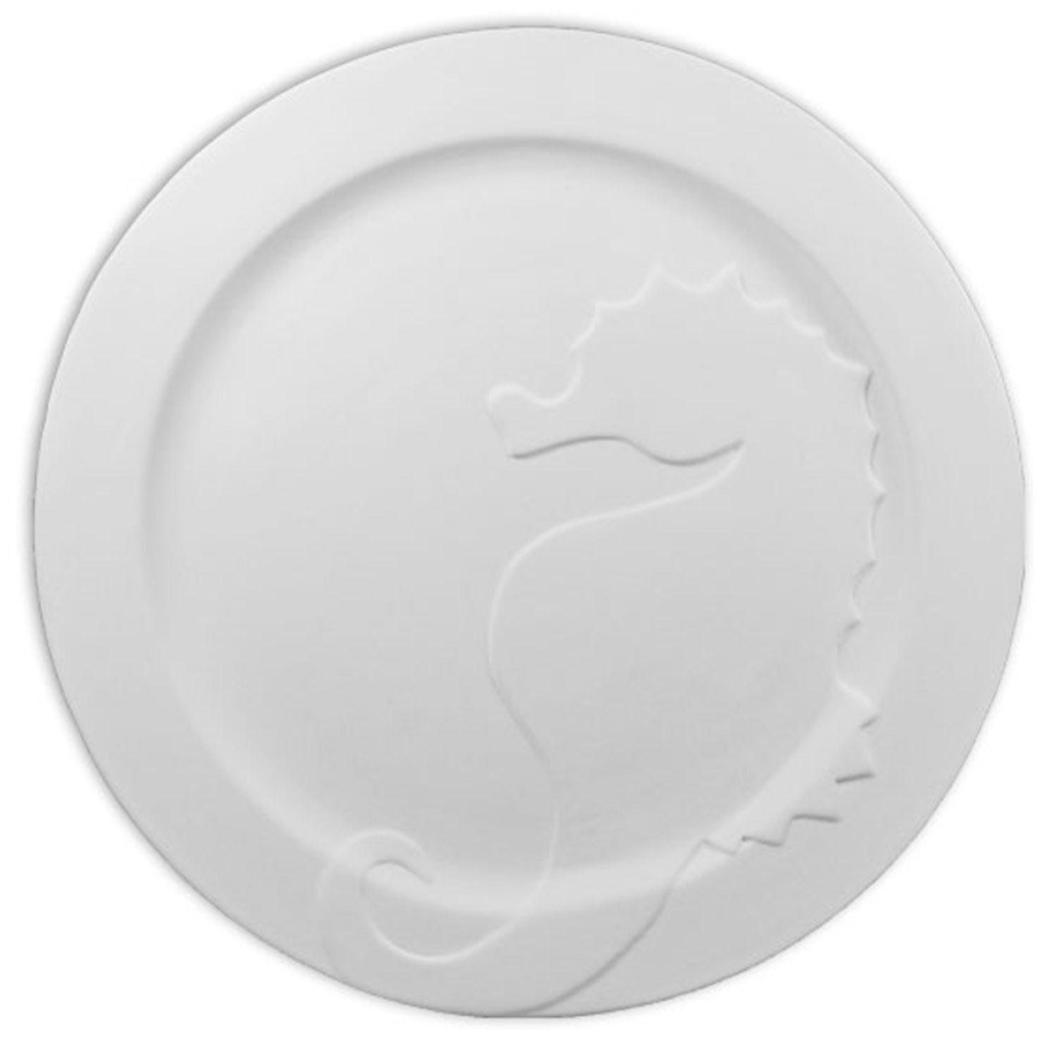 10-1/4 Seahorse Plate Mold