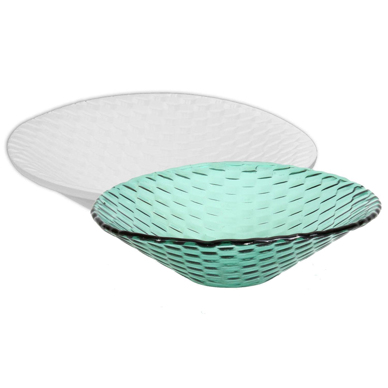 7-1/2 Basket Weave Texture Bowl Mold