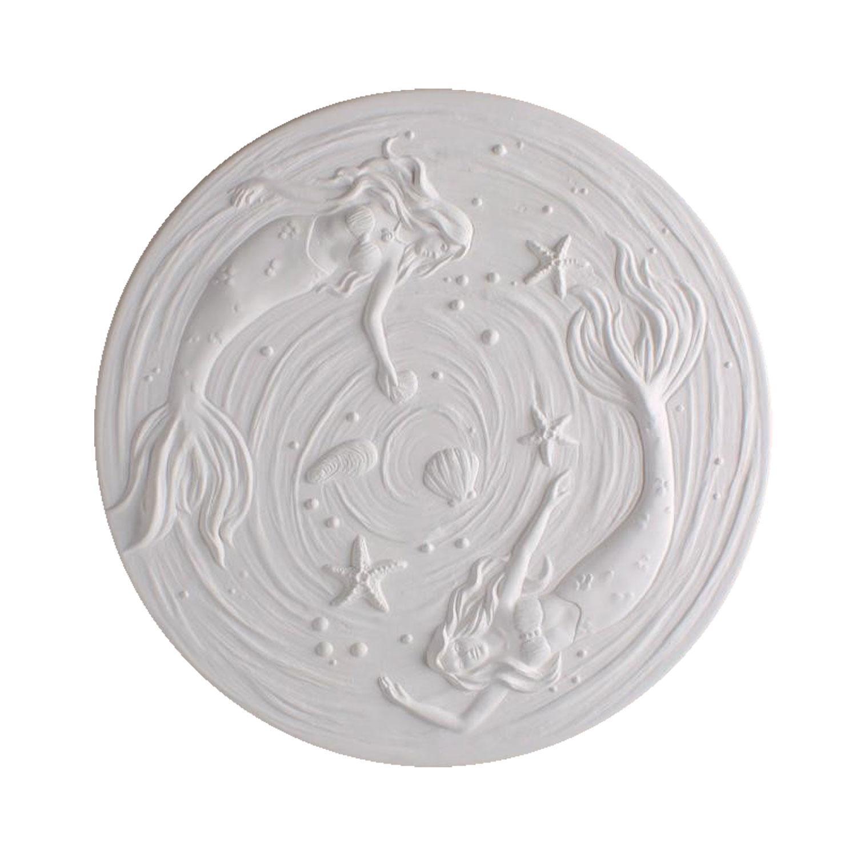 Round Mermaid Texture