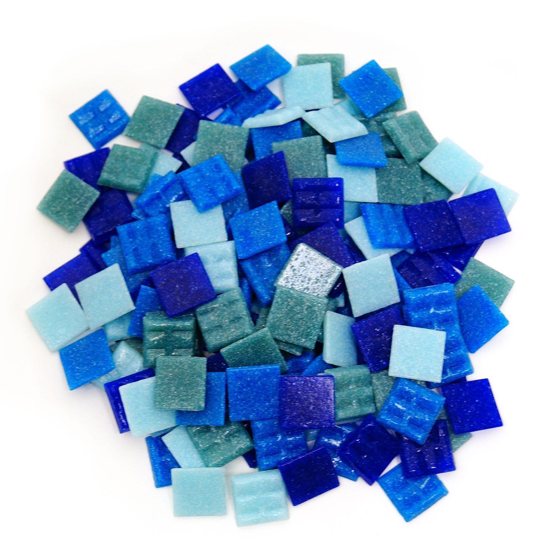 3/4 Denim Venetian Tile Mix - 1 Lb