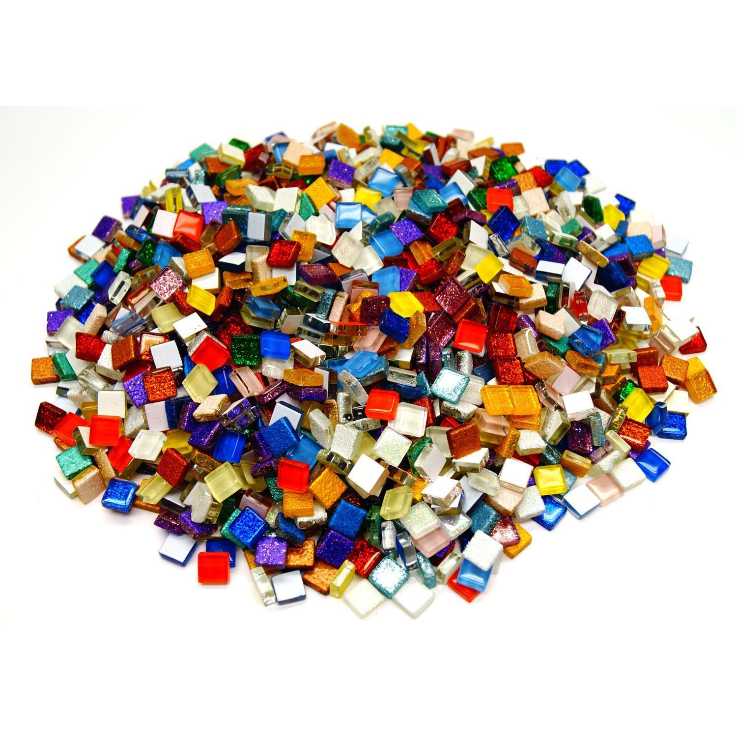 3/8 Cobblestone Tile Mega Mix - 3 lb