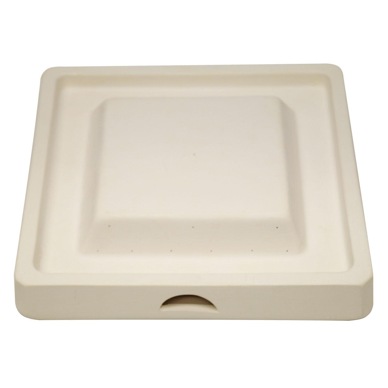 8 Square Rimmed Bowl Drape Mold