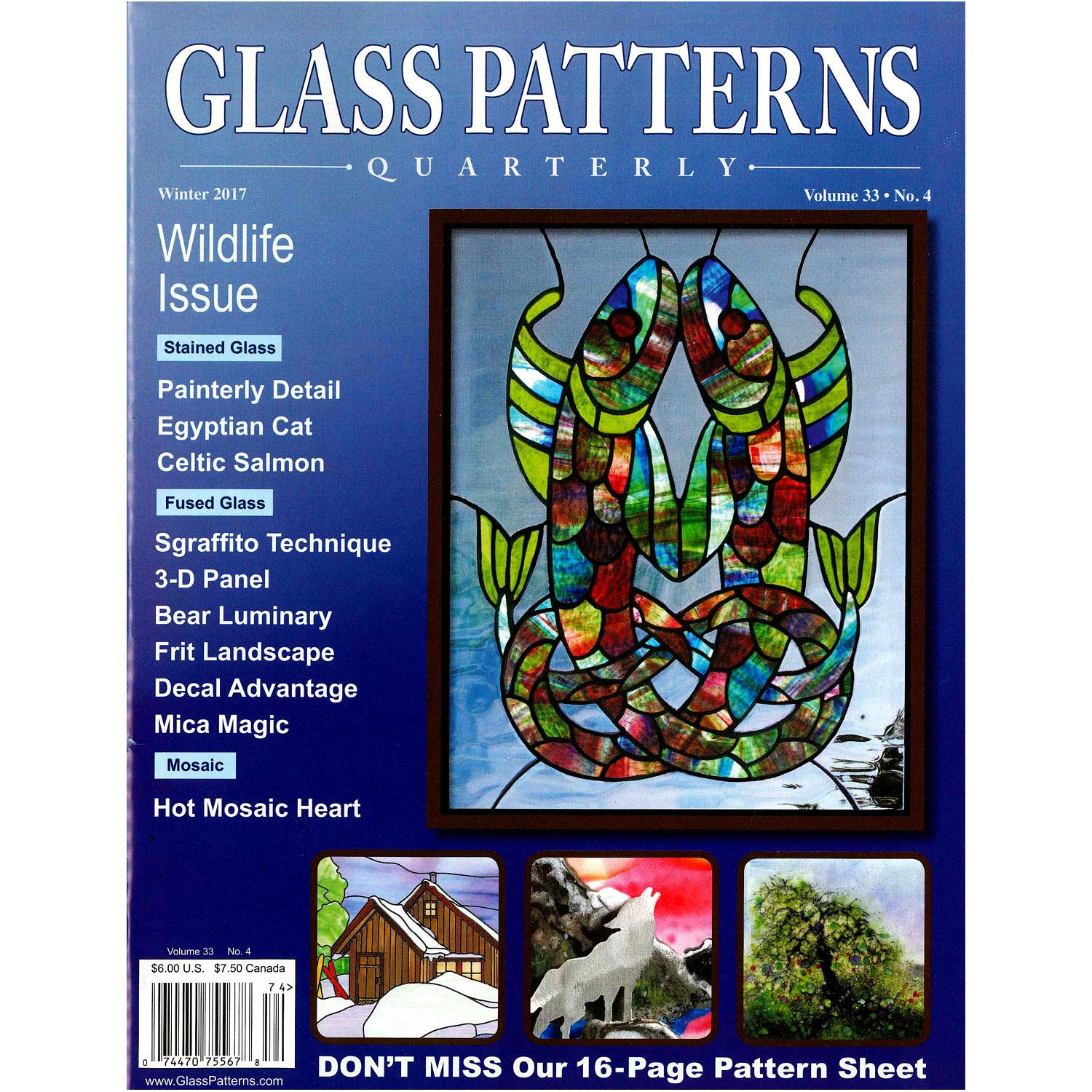 Glass Patterns Quarterly Winter 2018