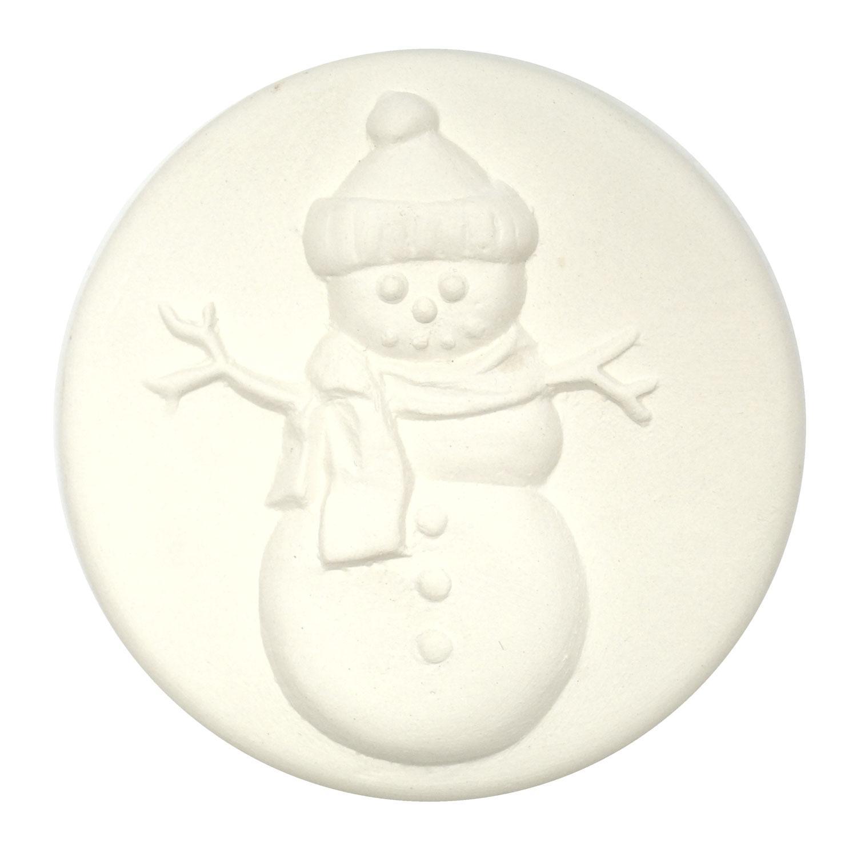 Delphi Studio Snowman Impression Tile