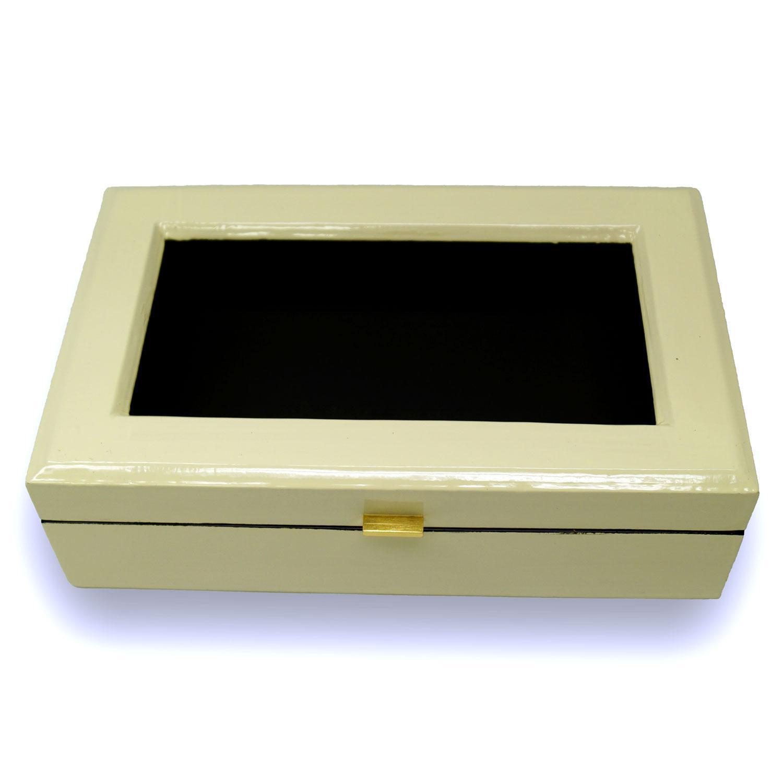 Small Ivory Lacquer Box