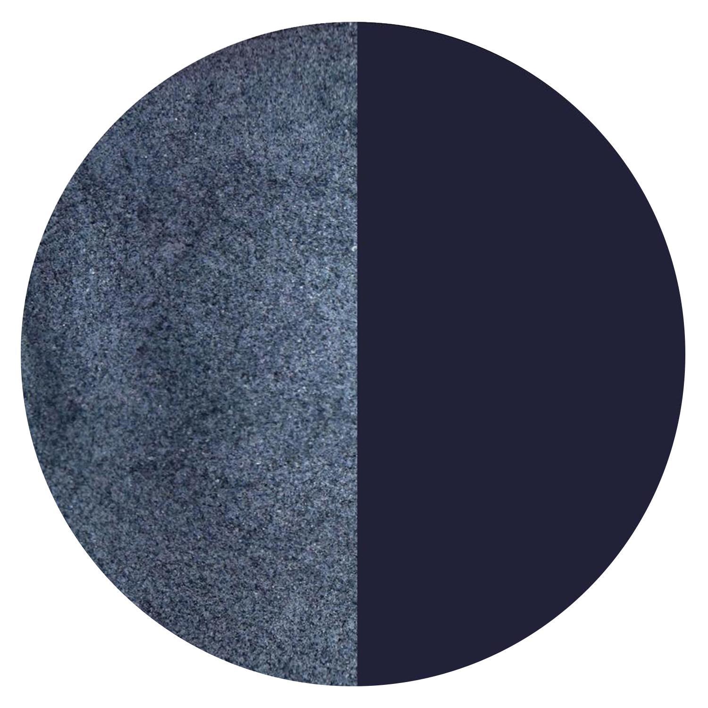 5 Oz Blue Black Opal Powder Frit - 90 COE