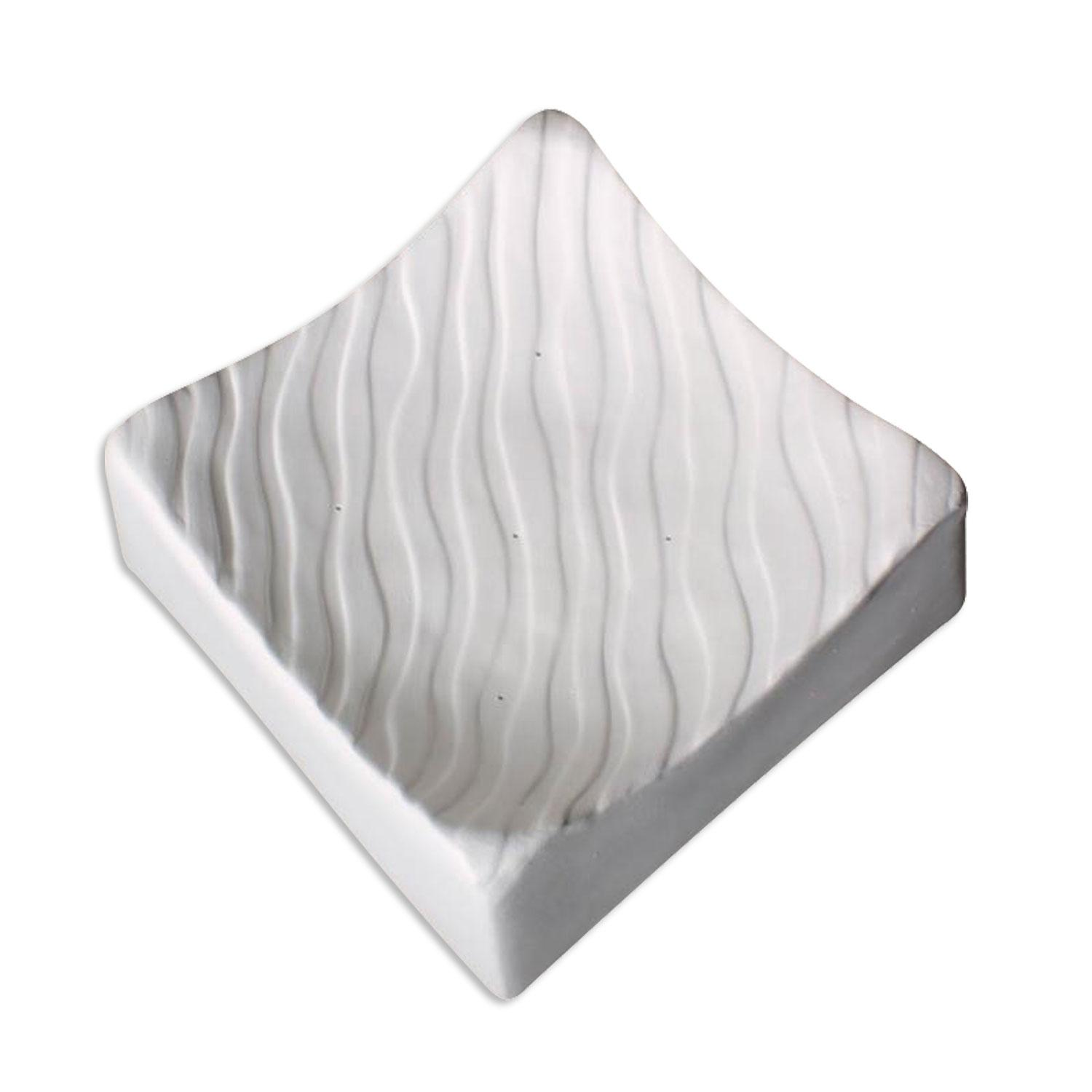 6-1/2 Square Wave Texture Mold